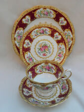 Royal Albert LADY HAMILTON Dessert Plate Tea Plate Plus CUP & SAUCER.