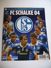 Panini: FC Schalke 04, Saison 2011/2012, deutsches Leeralbum, rar !!!
