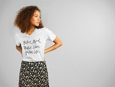 Women's T-shirt, Positive Mind, Positive Vibes, Positive Life.summer, Fashion.