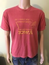 Do I Make You Corney Baby? Iowa Men's T Shirt Size Large By Mr. Chips