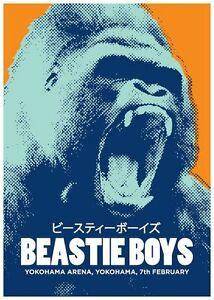 Beastie Boys VINTAGE RETRO METAL TIN SIGN POSTER WALL PLAQUE