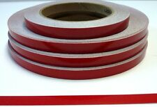 """3M"" RED REFLECTIVE TAPE CLASS 2 x 10MM x 4.5 METRES NEW"
