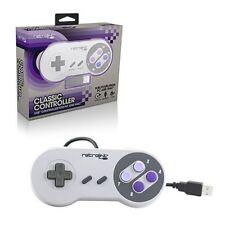 Manettes et périphériques de jeu joysticks Manette SNES pour jeu vidéo et console