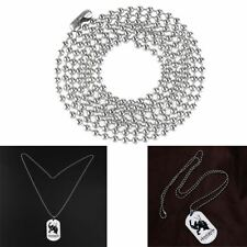 20PCS 30 inch Stainless Steel Silver 2.3mm Ball Bead Necklace Chain AU Ship New