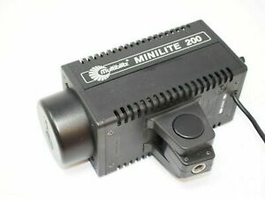 Multiblitz Minilite 200 Studio Flash Head - tested  fully functional  mini lite