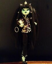 """11"""" Repainted Royal Extraterrestrial Monster High Frankie Doll"""
