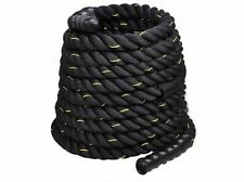 Costway 1.5 Workout Strength Training Undulation Poly Dacron Battle Rope Black