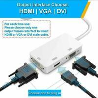 NEW Mini Display Port DP To HDMI DVI VGA Adapter Fit Air 28cm For Macbook G9N4