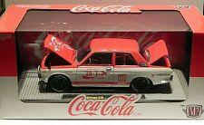 M2 Machines Coca Cola JRN01 1970 Datsun 510 Premium Only 3,000 1:24 Scale 19-04