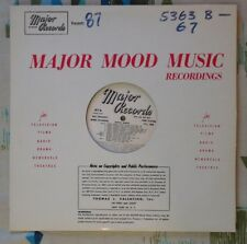 Major Library Music LP #87 George Chase Sam Trust Michael Reynolds VG+