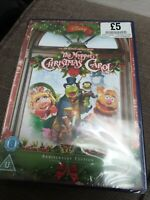 The Muppet Christmas Carol DVD 2008 Anniversary Edition New Sealed