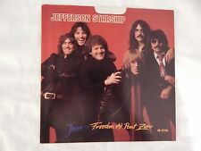 "JEFFERSON STARSHIP ""Jane"" PICTURE SLEEVE! BRAND NEW! ONLY NEW COPY ON eBAY!"