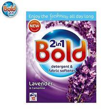 Bold 2 In 1 Lavender Camomile Fragranced Detergent Softener 10 Wash 650G New