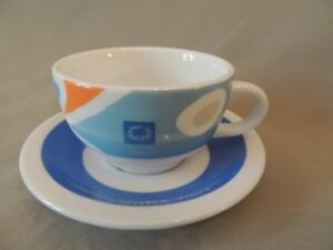 Athens 2004 Olympic Games Official Coffee Cup & Saucer Greece