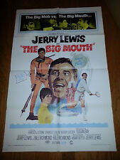 THE BIG MOUTH (1967) JERRY LEWIS COMEDY ORIG 27X41 1-SHEET POSTER