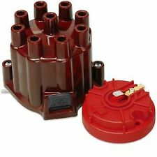 MSD Ignition 8442 Distributor Cap & Rotor Kit Brass Terminals Points Style Cap