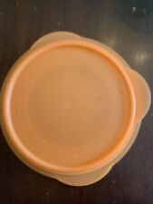Tupperware Flat Out Collapsible Bowl 4 Cup Orange 5453 New