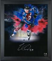 "Nathan MacKinnon Colorado Avalanche Frmd Signed 20"" x 24"" In Focus Photo"