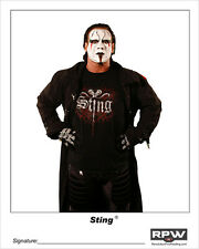 Official Rpw - Sting 8x10 Photo