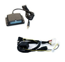 Volvo 00+ radio auxiliary audio input interface. Add aux MP3 to factory stereo
