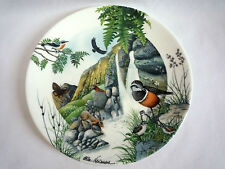 """WEDGEWOOD LIMITED EDITION #881A / THE MOUNTAIN STREAM 8"""" PLATE BY COLIN NEWMAN"""