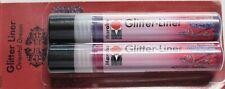 Marabu Metallizzato O.Gliiter O.3 D Liner (100ml=11,98 €) 14 Diversi Farbsets