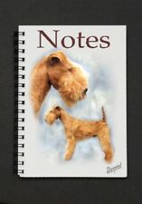 Lakeland Terrier Notebook/Notepad with a small image on every page -by Starprint