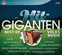 Die Hit Giganten Best of Volksmusik 3CD NEU OVP