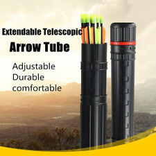 Adjustable Plastic Arrow Case Quiver Shoulder Tube Elastic Drawing Holder