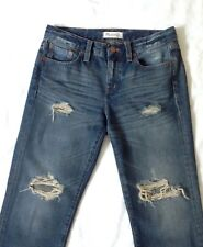 """Madewell"" Distressed Boyjean, Size 25, made in China"