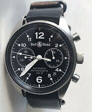 Bell & Ross BR 126 Vintage Military Heritage Wrist Watch for Men