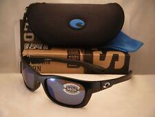 Costa Trevally Matte Black w Blue 580G lens NEW Sunglasses (GT11 OBMGLP)