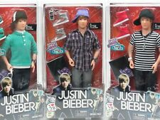 JB Style Collection Justin Bieber fashion doll lot of 3 WOW