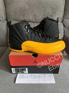 Nike Air Jordan 12 Retro Black University Gold Size 13 with Receipt 130690-070