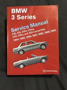 1984 1985 1986 1987 1988 1989 1990 BMW 318i 325 E ES I IS CONVERT REPAIR MANUAL