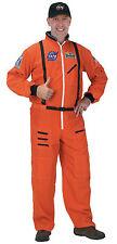 Halloween NASA ASTRONAUT SUIT ADULT ORANGE LARGE High Quality Men Space Costume
