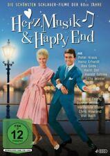 Herz, Musik & Happy End (7 Filme) Peter Kraus, Heinz Erhardt, Rex Gildo - 4 DVDs