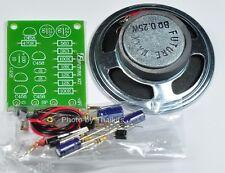 Mini Siren Sound Generation UN-Assembled Kit For Study/Soldering 9-12VDC [FK228]