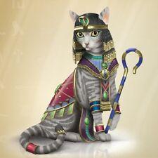 Cleo-Catra Divine Feline Cat Cleopatra Figurine  - Bradford Exchange