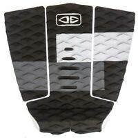 Ocean And Earth 3 Piece Traction Surfboard Grip Owen Wright Tail Pad Grey