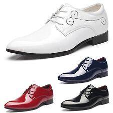 Uniform Mens New Faux Leather Party Dancing Evening Shoes UK Size 5-14