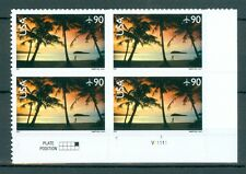 US C143 Hagatana Bay Guam 90c 1 PB of 4 stamps MNH issued 2007 P# V1111