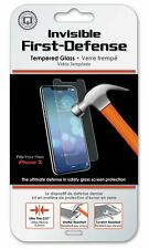 Apple iPhone X Screen Protector - Qmadix Invisible First-Defense Tempered Glass