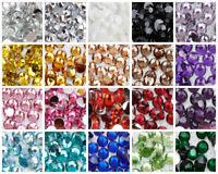 1000 Choose Colour Clear Flat Back Nail Art Face Festival Rhinestones Gems