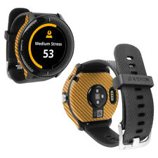 Skinomi Carbon Fiber Skin & Screen Protector for Garmin Vivoactive 3 Music