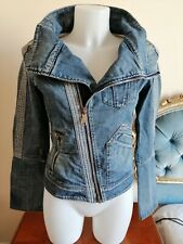 DIESEL RN 93243 VINTAGE Giacca GIUBBINO Jeans Denim Jacket Tg / SIZE S