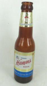 vintage 1960s Hamm's STRONG Beer 7 oz glass bottle St Paul MN Beer Refreshing