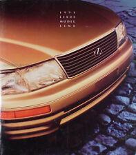 1995 Lexus Sales Catalog 95 LS ES GS SC 300 400 LS400 GS300 GS400 SC300 SC400