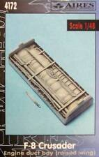 Aires 1/48  F-8 Crusader Engine Duct Bay (Raised Wing) for Hasegawa kit # 4172