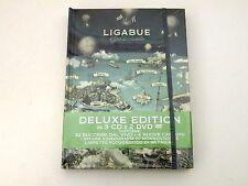 LIGABUE - GIRO DEL MONDO - BOX DELUXE EDITION 3 CD+2 DVD WARNER 2015 - NUOVO/NEW